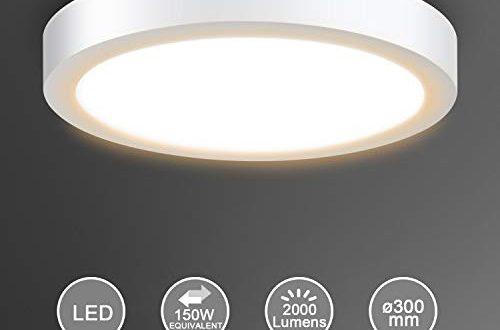 Creyer LED Deckenleuchte, LED Panel Deckenlampe 24W ersetzt ...