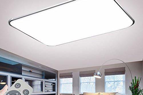 Deckenlampe Led Deckenleuchte Dimmbar 72w Mit Fernbedienung
