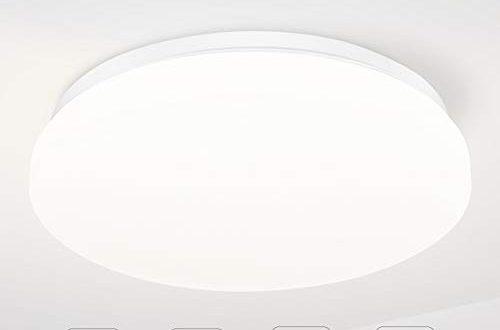 TECKIN Deckenleuchte LED Deckenlampe,Deckenleuchte fuer Bad Schlafzimmer Kueche Balkon Korridor 500x330 - TECKIN Deckenleuchte, LED Deckenlampe,Deckenleuchte für Bad Schlafzimmer Küche Balkon Korridor Büro Esszimmer Wohnzimmer 18W Natürliches Weiß 1500LM Ø28cm 4500K IP44
