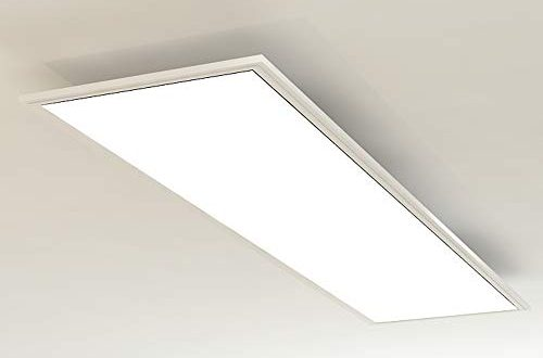 Briloner Leuchten LED Deckenleuchte Panel LED Lampe Wohnzimmer Lampe Deckenlampe Deckenstrahler 38W 500x330 - Briloner Leuchten - LED Deckenleuchte-Panel, LED-Lampe, Wohnzimmer-Lampe, Deckenlampe, Deckenstrahler, 38W, Rechteckig Weiß, 119.5 cm