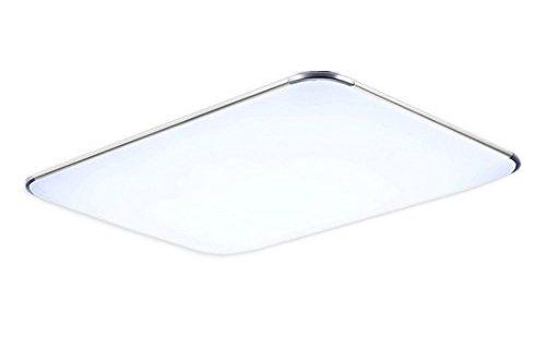 31BpNjNqHL 500x330 - MCTECH 48W LED Deckenleuchte Ultraslim Modern Deckenlampe Flur Wohnzimmer Lampe Schlafzimmer Küche Energie Sparen Licht Wandleuchte Farbe Silber Kaltweiß